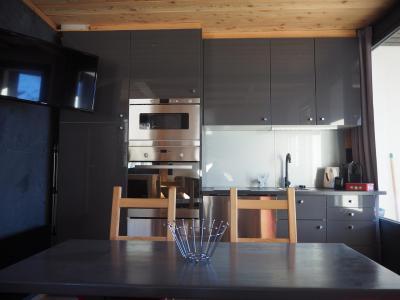 Holiday in mountain resort Studio sleeping corner 4 people (0412) - La Résidence les Gentianes - Les Menuires - Kitchenette