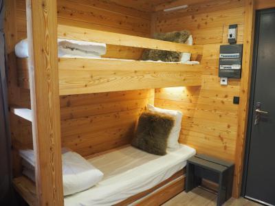 Holiday in mountain resort Studio sleeping corner 4 people (0412) - La Résidence les Gentianes - Les Menuires - Sleeping area