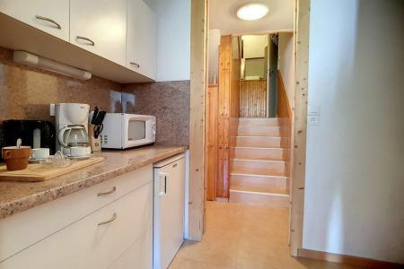 Holiday in mountain resort 2 room duplex apartment 5 people (E18) - La Résidence les Lauzes - Les Menuires - Living area