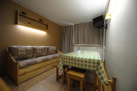 Holiday in mountain resort 2 room duplex apartment 6 people (C8) - La Résidence les Lauzes - Les Menuires - Living area