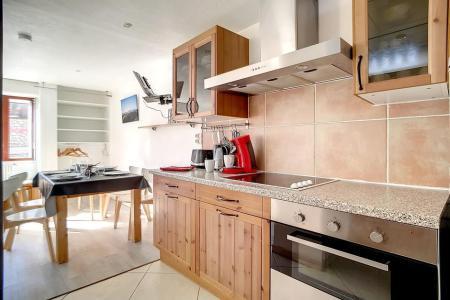 Vacances en montagne Appartement 2 pièces 5 personnes (A3) - La Résidence les Lauzes - Les Menuires - Kitchenette