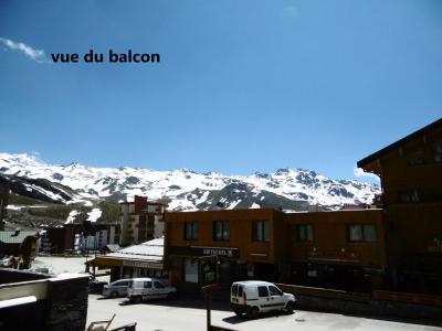 Holiday in mountain resort Studio 4 people (029) - La Résidence les Névés - Val Thorens