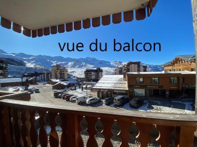 Holiday in mountain resort Studio 4 people (061) - La Résidence les Névés - Val Thorens
