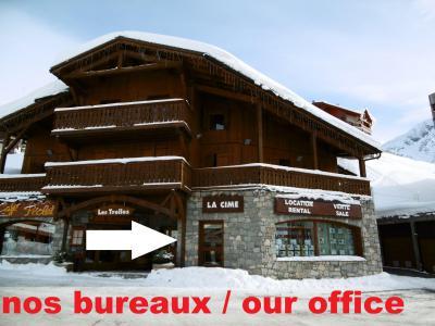 Holiday in mountain resort Studio 4 people (125) - La Résidence les Névés - Val Thorens