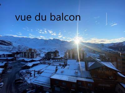 Holiday in mountain resort Studio 4 people (201) - La Résidence les Névés - Val Thorens