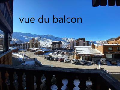 Holiday in mountain resort Studio 4 people (059) - La Résidence les Névés - Val Thorens