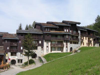 Location au ski Studio 4 personnes (006) - La Résidence les Pentes - Montchavin La Plagne - Extérieur été