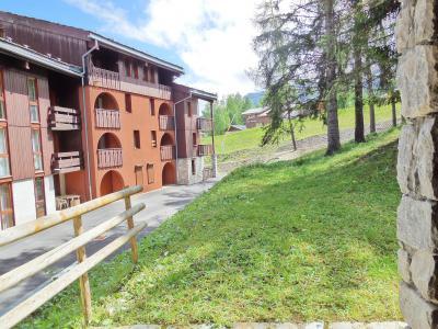 Location au ski Appartement 2 pièces 4 personnes (004) - La Résidence les Pentes - Montchavin La Plagne - Extérieur été