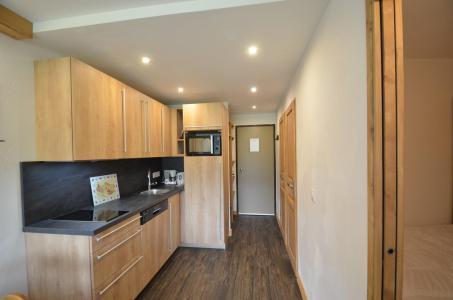 Holiday in mountain resort 2 room apartment 4 people (312) - La Résidence les Soldanelles - Les Menuires - Kitchen