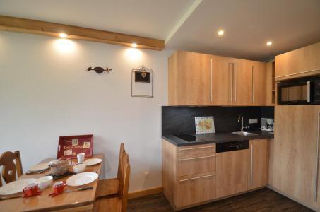 Holiday in mountain resort 2 room apartment 4 people (312) - La Résidence les Soldanelles - Les Menuires - Kitchenette