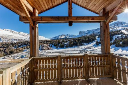 Vacances en montagne La Résidence les Toits du Dévoluy - Superdévoluy - Balcon