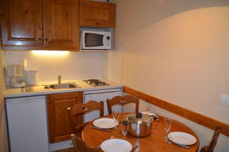 Vacances en montagne Studio cabine 4 personnes (402) - La Résidence Médian - Les Menuires - Logement