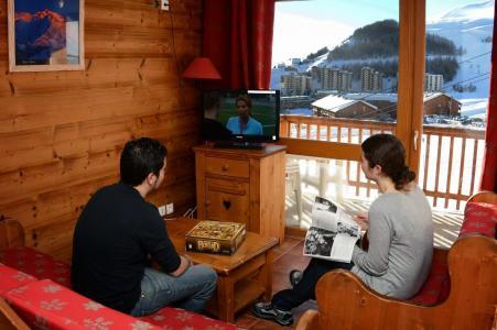 Vacances en montagne La Résidence Rochebrune - Orcières Merlette 1850 - Tv