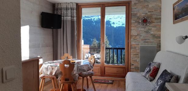 Vacances en montagne Appartement 2 pièces cabine 4 personnes (211) - La Résidence Sagittaire - Flaine - Séjour