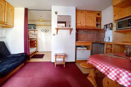 Urlaub in den Bergen 2-Zimmer-Appartment für 4 Personen (1204) - La Résidence Ski Soleil - Les Menuires - Wohnzimmer