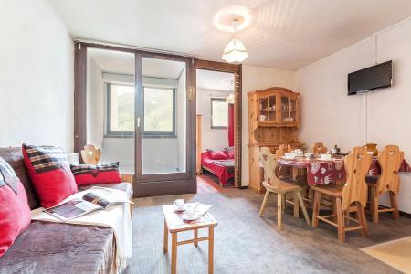Urlaub in den Bergen 2-Zimmer-Berghütte für 4 Personen (1108) - La Résidence Ski Soleil - Les Menuires - Tisch