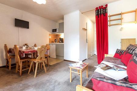 Urlaub in den Bergen 2-Zimmer-Berghütte für 4 Personen (1108) - La Résidence Ski Soleil - Les Menuires - Wohnzimmer