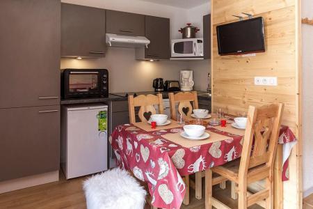 Urlaub in den Bergen 2-Zimmer-Berghütte für 4 Personen (2102) - La Résidence Ski Soleil - Les Menuires - Kochnische