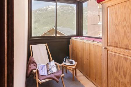 Urlaub in den Bergen 2-Zimmer-Berghütte für 5 Personen (1111) - La Résidence Ski Soleil - Les Menuires - Unterkunft