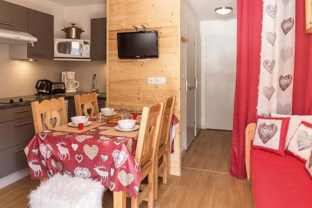 Holiday in mountain resort 2 room apartment sleeping corner 4 people (2102) - La Résidence Ski Soleil - Les Menuires