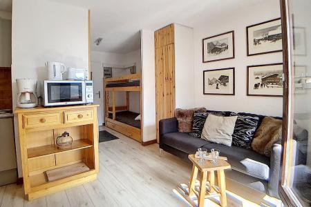 Holiday in mountain resort Studio cabin 4 people (1510) - La Résidence Ski Soleil - Les Menuires