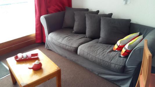 Holiday in mountain resort Studio sleeping corner 4 people (0858) - La Résidence Varet - Les Arcs - Bed-settee
