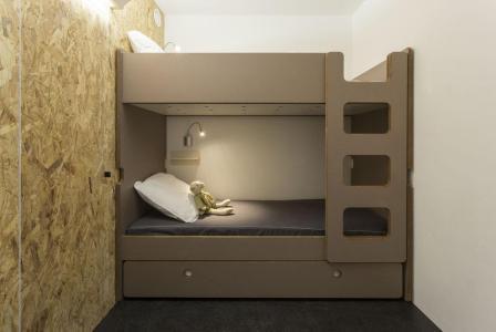 Holiday in mountain resort Studio sleeping corner 5 people (0410) - La Résidence Varet - Les Arcs - Bunk beds