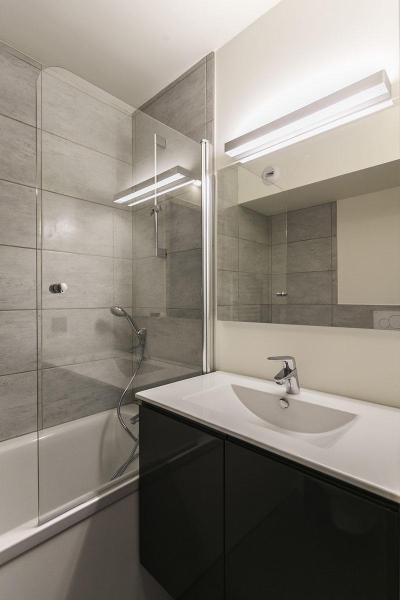 Holiday in mountain resort Studio sleeping corner 5 people (0916) - La Résidence Varet - Les Arcs - Bath-tub