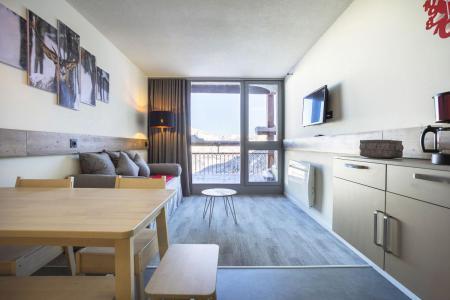 Holiday in mountain resort Studio sleeping corner 5 people (0916) - La Résidence Varet - Les Arcs - Living room