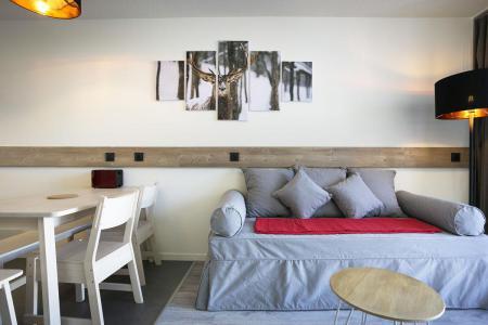 Holiday in mountain resort Studio sleeping corner 5 people (0916) - La Résidence Varet - Les Arcs - Pull-out sofa
