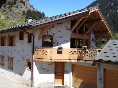 Location au ski Le Chalet Blanche Neige - Champagny-en-Vanoise - Extérieur été