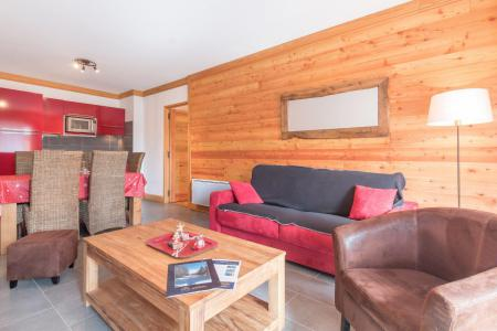 Holiday in mountain resort 4 room apartment 6 people (VINB01) - Le Chalet du Janus - Montgenèvre - Living room