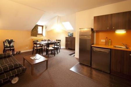 Vacances en montagne Appartement duplex 3 pièces 6 personnes (Residence) - Le Château des Magnans - Pra Loup - Séjour