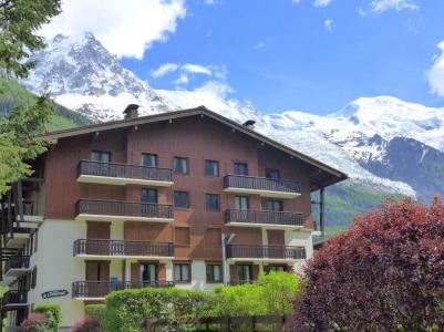 Rent in ski resort 1 room apartment 2 people (1) - Le Choucas - Chamonix - Summer outside