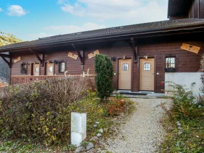 Rent in ski resort 3 room chalet 7 people (2) - Le Clos Alpin - Saint Gervais - Summer outside
