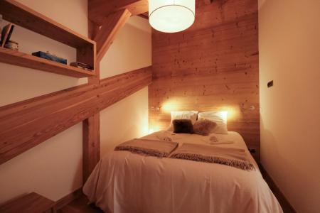 Holiday in mountain resort 4 room triplex chalet 6 people (Aigle) - Le Hameau de Caseblanche - Saint Martin de Belleville - Double bed