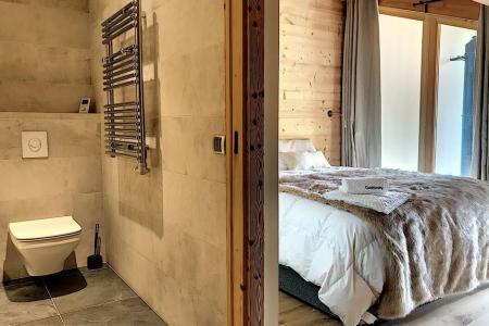 Holiday in mountain resort 4 room triplex chalet 6 people (Carcosa) - Le Hameau de Caseblanche - Saint Martin de Belleville - Bedroom