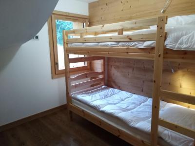 Holiday in mountain resort 4 room triplex chalet 6 people (Coron) - Le Hameau de Caseblanche - Saint Martin de Belleville - Bunk beds