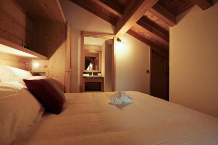Holiday in mountain resort 4 room triplex chalet 6 people (Coron) - Le Hameau de Caseblanche - Saint Martin de Belleville - Cabin