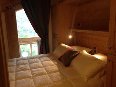 Holiday in mountain resort 4 room triplex chalet 6 people (Coron) - Le Hameau de Caseblanche - Saint Martin de Belleville - Double bed