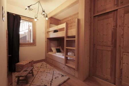 Holiday in mountain resort 4 room triplex chalet 6 people (Léa) - Le Hameau de Caseblanche - Saint Martin de Belleville - Bunk beds