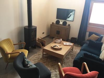 Holiday in mountain resort 4 room triplex chalet 6 people (Léa) - Le Hameau de Caseblanche - Saint Martin de Belleville - Living room