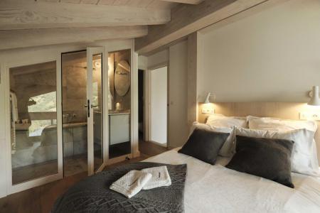 Holiday in mountain resort 4 room triplex chalet 6 people (Retreat) - Le Hameau de Caseblanche - Saint Martin de Belleville - Cabin