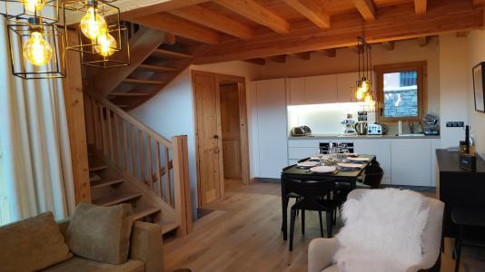 Holiday in mountain resort 4 room triplex chalet 6 people (Selini) - Le Hameau de Caseblanche - Saint Martin de Belleville - Accommodation