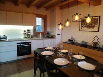 Holiday in mountain resort 4 room triplex chalet 6 people (Selini) - Le Hameau de Caseblanche - Saint Martin de Belleville - Kitchen