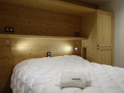 Holiday in mountain resort 4 room triplex chalet 6 people (Suzan) - Le Hameau de Caseblanche - Saint Martin de Belleville - Bedroom