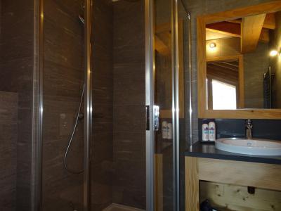 Holiday in mountain resort 4 room triplex chalet 6 people (Suzan) - Le Hameau de Caseblanche - Saint Martin de Belleville - Shower