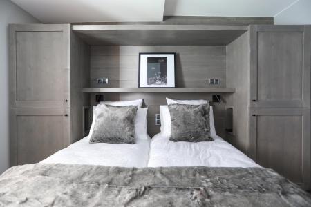 Holiday in mountain resort 5 room quadriplex chalet 8 people (Augustine) - Le Hameau de Caseblanche - Saint Martin de Belleville - Bedroom