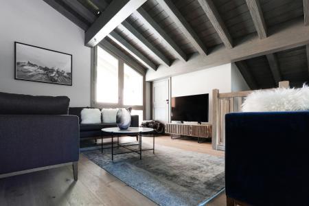 Holiday in mountain resort 5 room quadriplex chalet 8 people (Augustine) - Le Hameau de Caseblanche - Saint Martin de Belleville - Living room