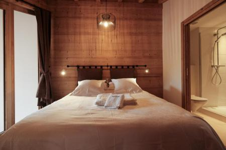 Holiday in mountain resort 5 room triplex chalet 8 people (Eceel) - Le Hameau de Caseblanche - Saint Martin de Belleville - Bedroom